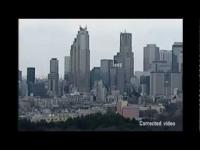 צפו: איך מתנדנדים בניינים בזמן רעידת אדמה ביפן