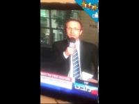 ערוץ 1 בפליטת פה בשידור חי על אייל גולן בפרשת הקטינה בת 15