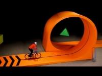 תרגילי אופניים על צעצועים
