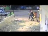 שוטר הושעה מתפקידו לאחר שתקף חייל