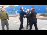 משטרת אשדוד האלימה - תקפו אזרח שביקש פרטי שוטר