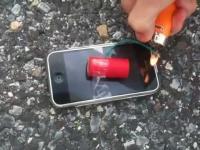 לפוצץ אייפון עם נפץ