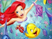 בת הים הקטנה -  הסרט המלא (מדובב לעברית)