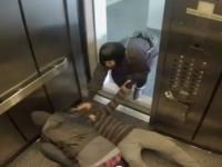 איך הייתם מגיבים אם הייתם עדים לרצח במעלית?
