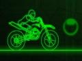 משחק רוכב הניאון - Neon Drive