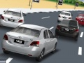 משחק מירוץ מכונית טויוטה תלת מימד