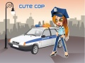 משחק הלבשת שוטרת בראץ - Cute Cop
