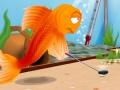 משחק גולף דג זהב