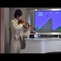 צלילי סופר מריו בכינור