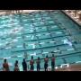 צפו: השאיר להם עשן במים בתחרות השחייה