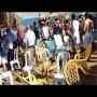 צפו: קטטה המונית בחוף נווה מדבר בים המלח