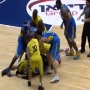 מכות רצח בין בלו לטראוויס גמר גביע המדינה בכדורסל