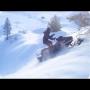 כישלון בטיפוס עם אופנוע שלג