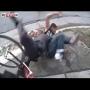 צפו: גנב אופניים נתפס על חם