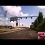 מרדף שוטר בניידת אחרי רוכב אופנוע
