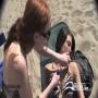 [מתיחה] - בנות גזרו את החזייה בחוף