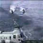 אמיתי: מסוק מתרסק לים