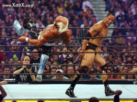 Hulk Hogan VS The Rock
