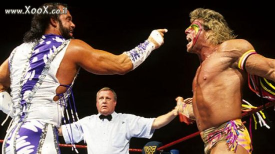 Ultimate Warrior VS Randy Savage