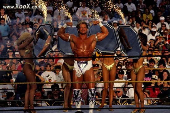 Wrestlemania.IX - Lex Luger Vs Mr.Perfect